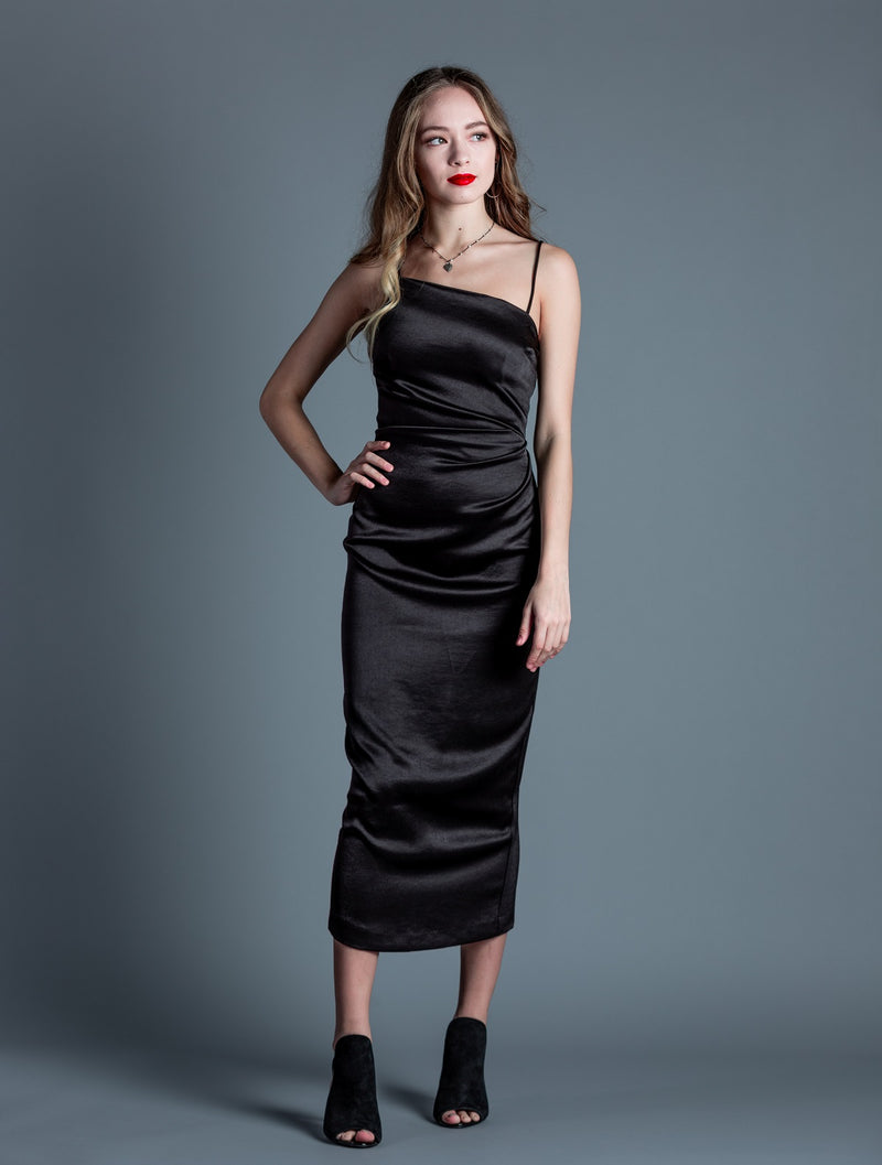 Claudia Asymmetrical Dress <br> Bec + Bridge