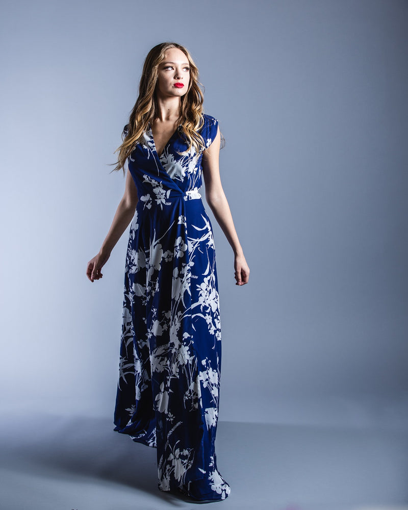 Sashay Away Maxi Dress <br> Yumi Kim