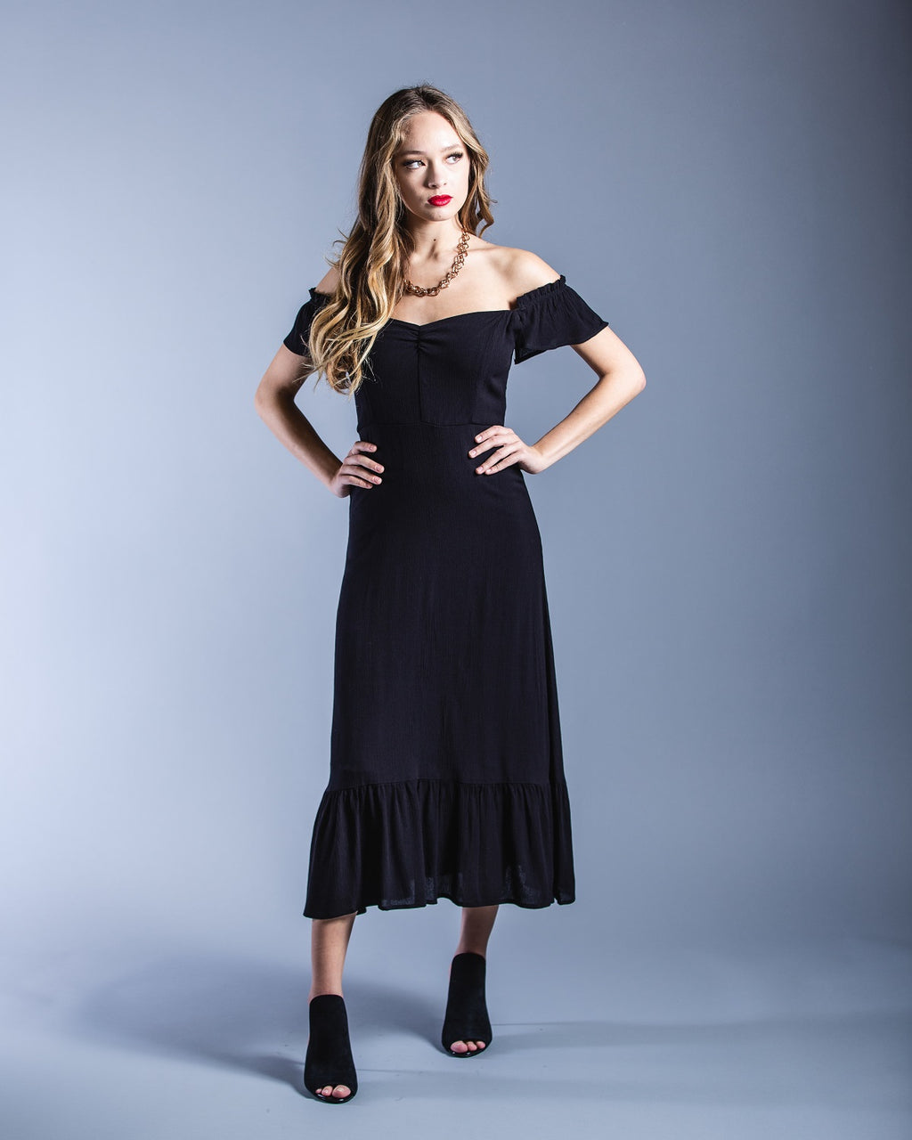 Serena Dress <br> East N West Label - Trendy Fox Boutique