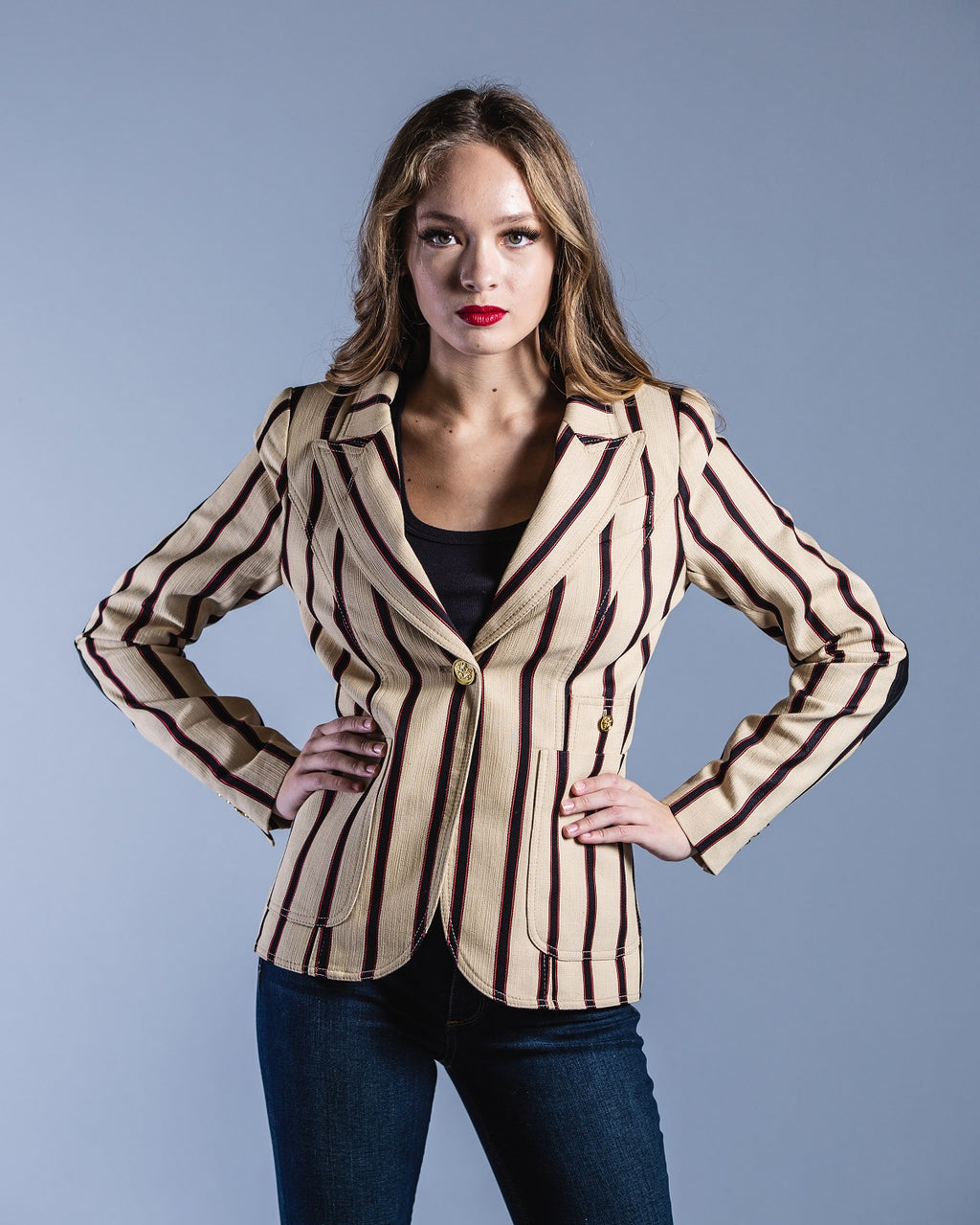Patch Pocket Duchess Blazer <br> Smythe - Trendy Fox Boutique
