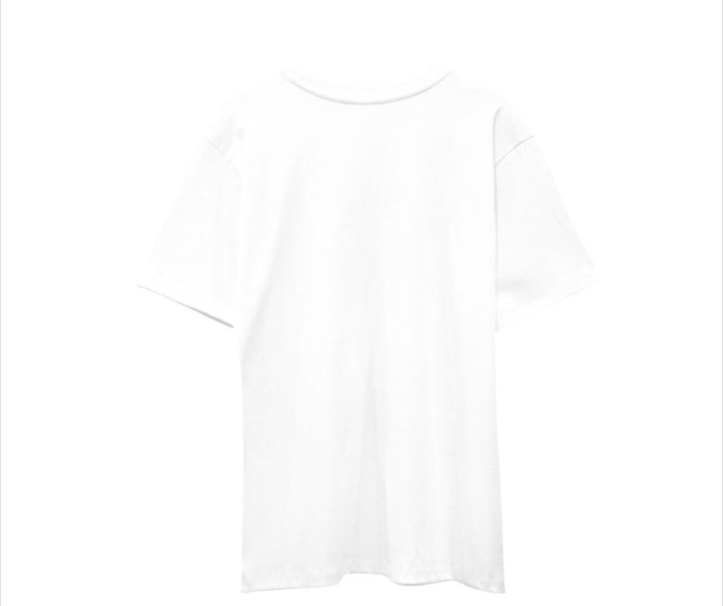 STYLEICON PRINT T -SHIRT, WHITE - Trendy Fox Boutique
