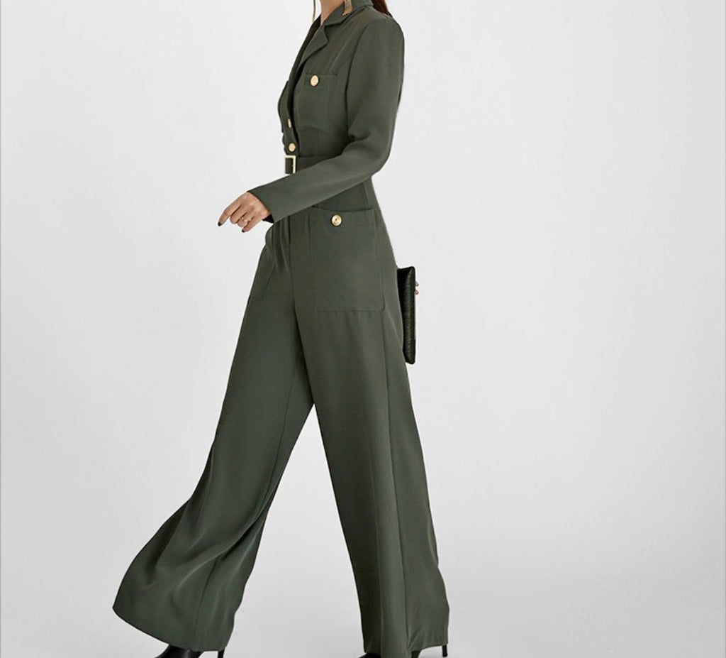 Miki Wide Leg Jumpsuit - Trendy Fox Boutique