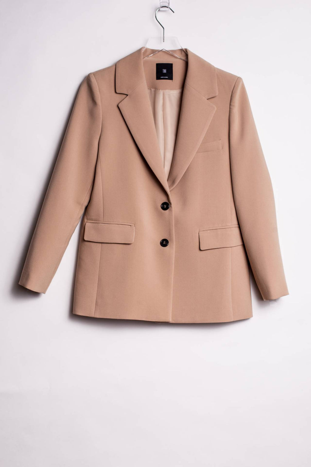 VENICE BLAZER, BEIGE - Trendy Fox Boutique