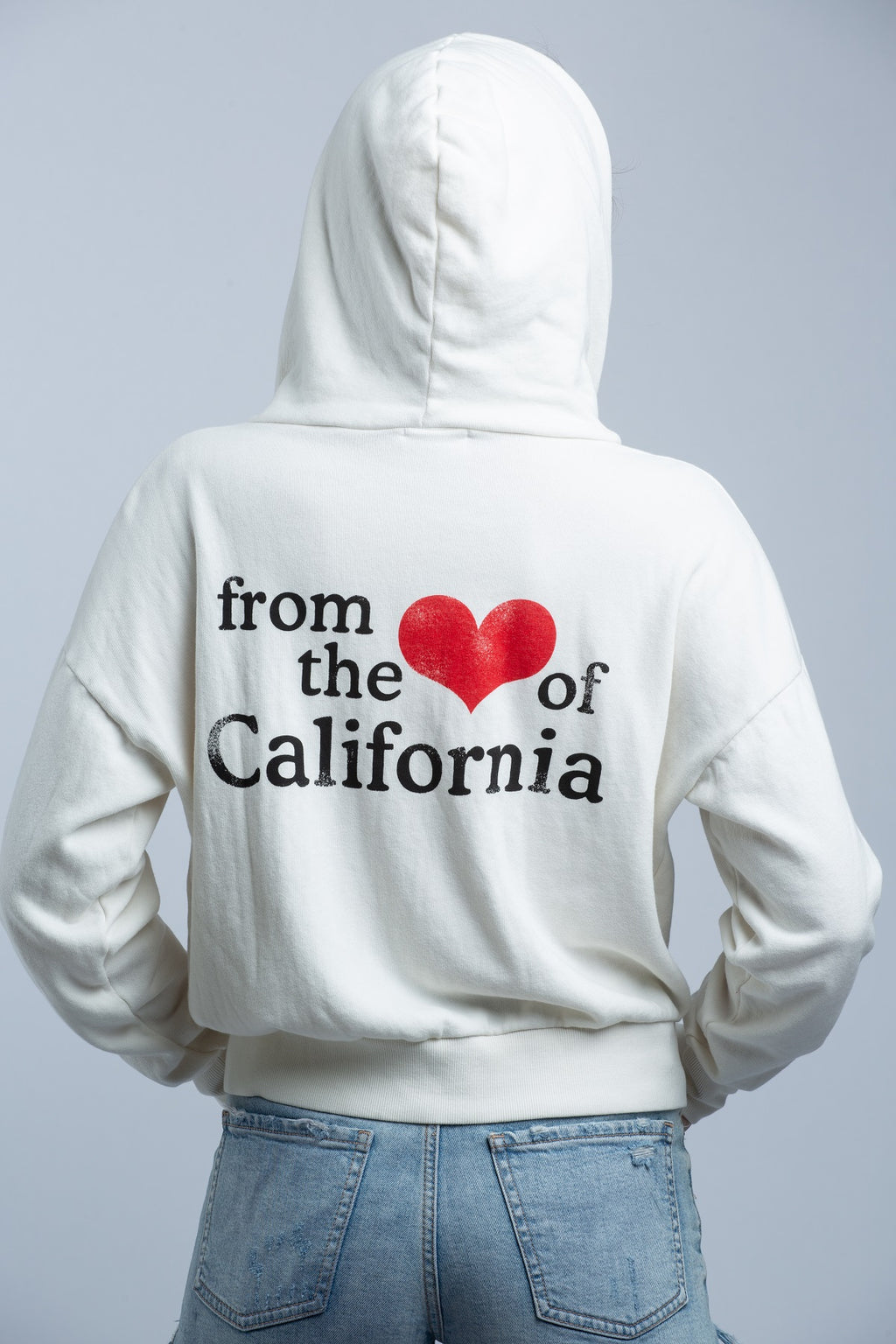 LNA - HEART OF CALIFORNIA ZIP UP - Trendy Fox Boutique