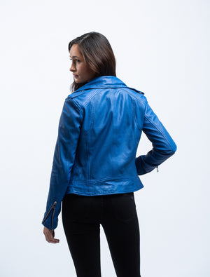LAMARQUE <br>Holy Leather Biker Jacket w/ Removable Hood