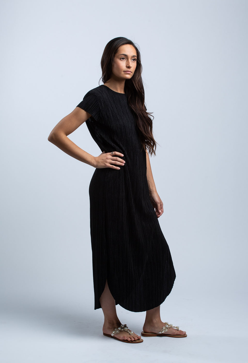 SABINA MUSAYEV - SHIRIN DRESS IN BLACK