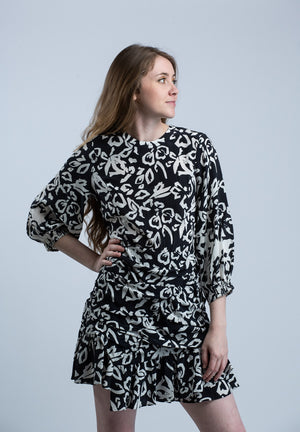Block Print Mel Dress <br> Tanya Taylor