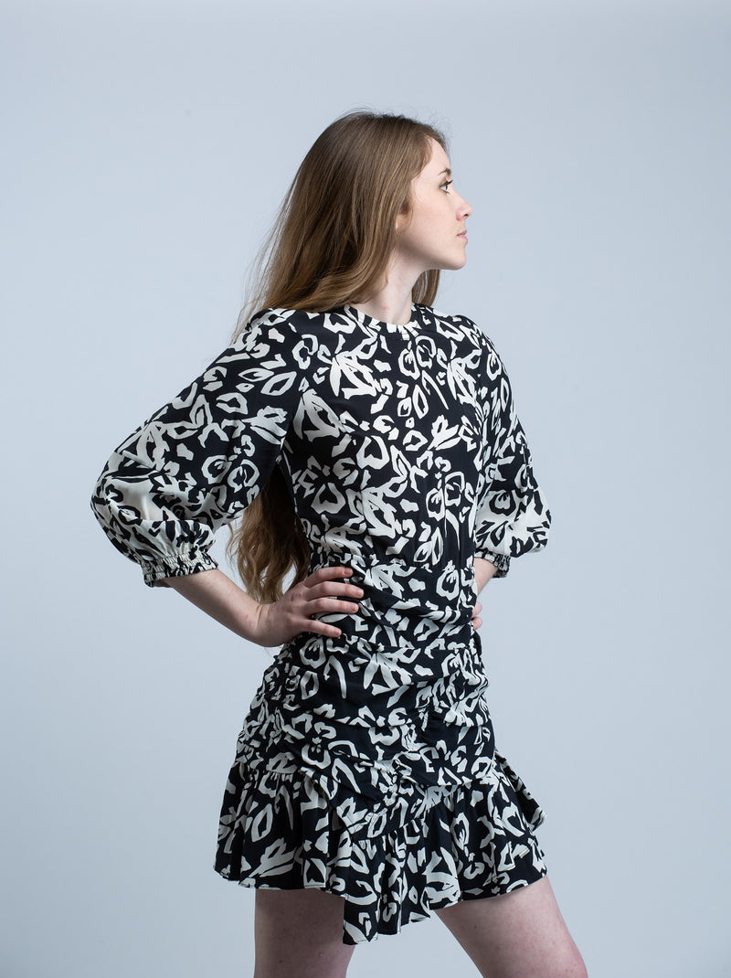 Block Print Mel Dress <br> Tanya Taylor - Trendy Fox Boutique