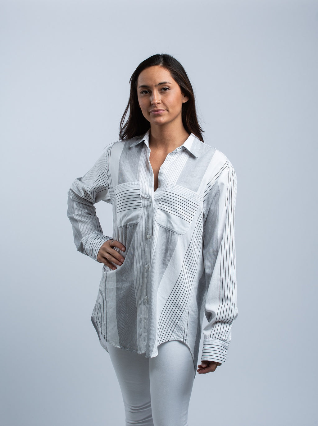 STILLWATER <br> The Favorite Shirt Between The Lines - Trendy Fox Boutique