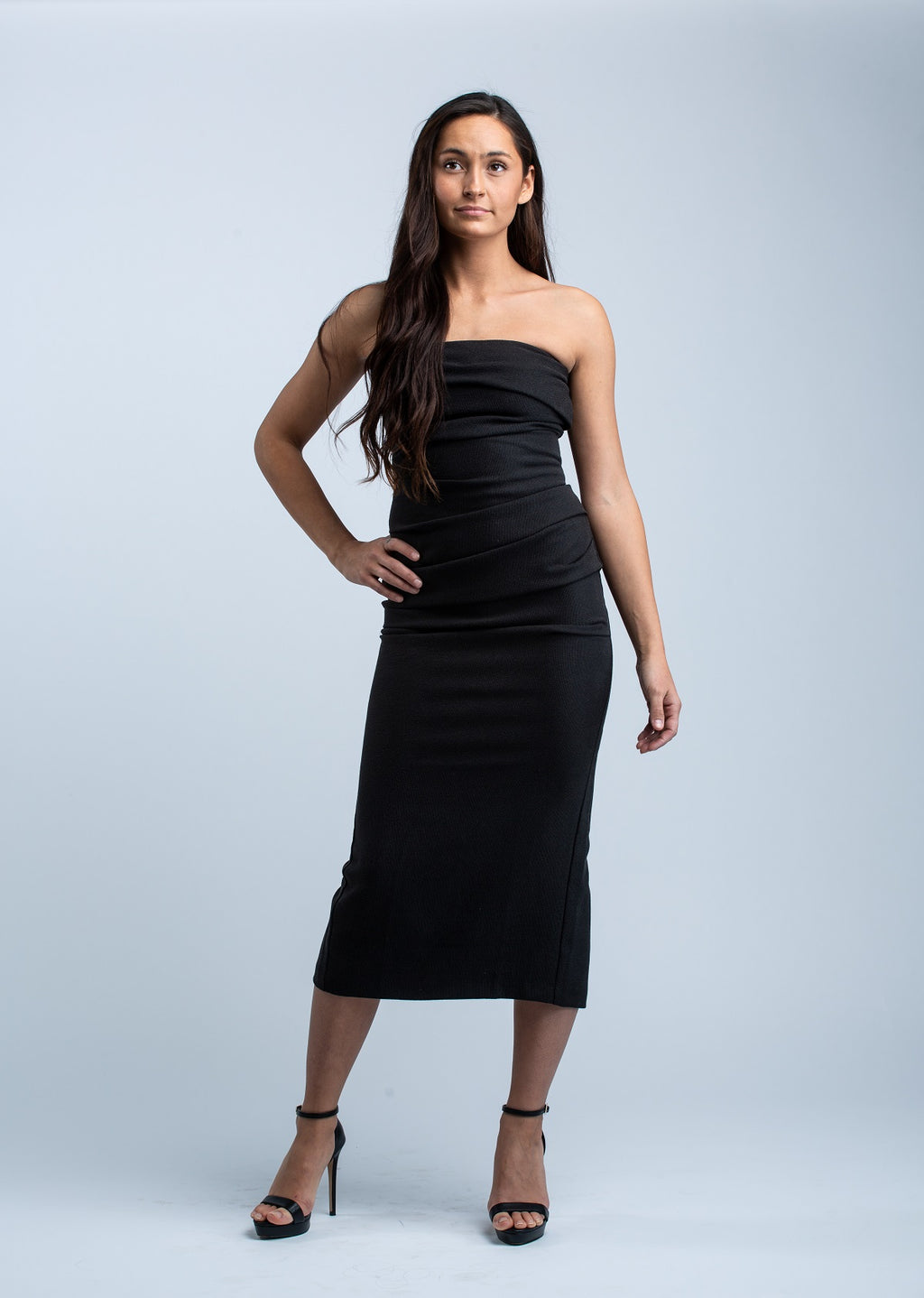 BEC & BRIDGE <br>Simply Irresistable Dress in Black - Trendy Fox Boutique