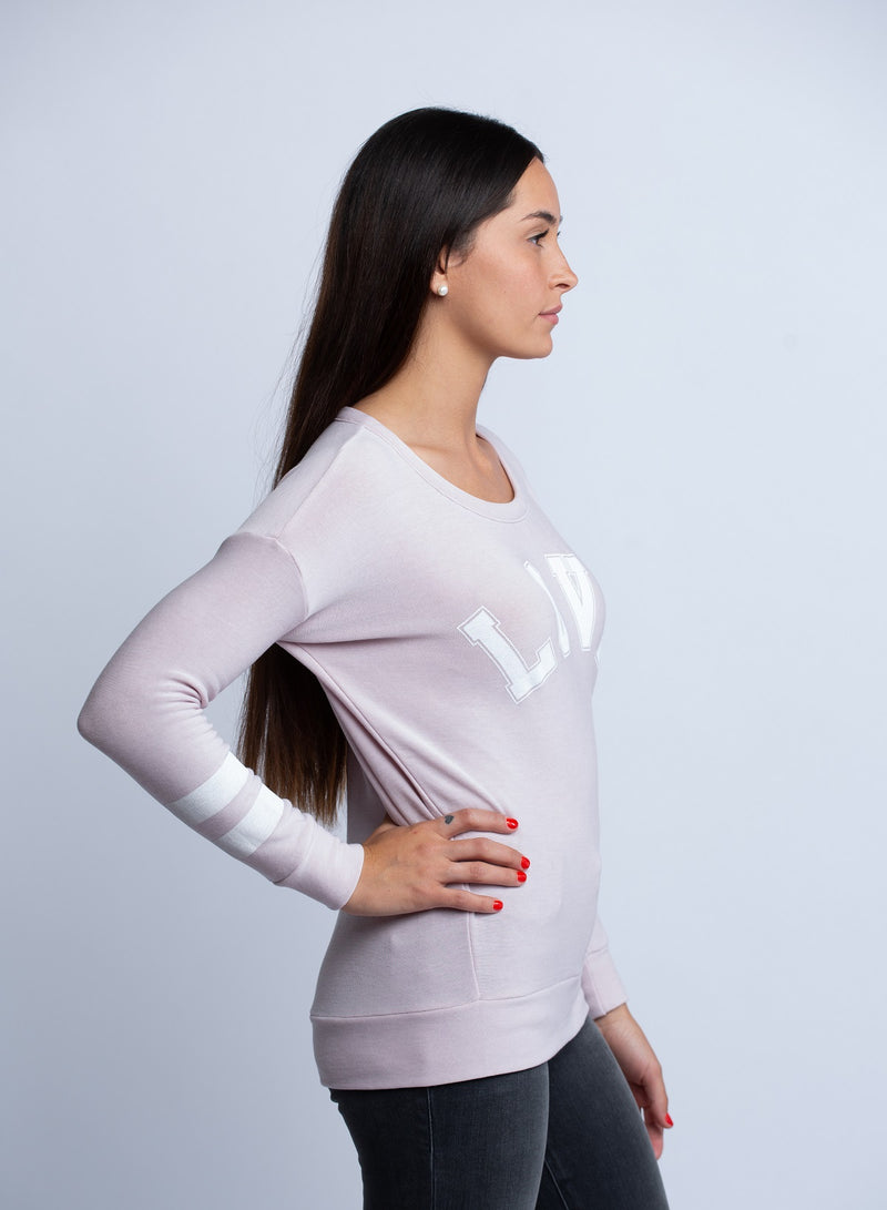 CHASER<br>Team Love in Light Pink - Trendy Fox Boutique