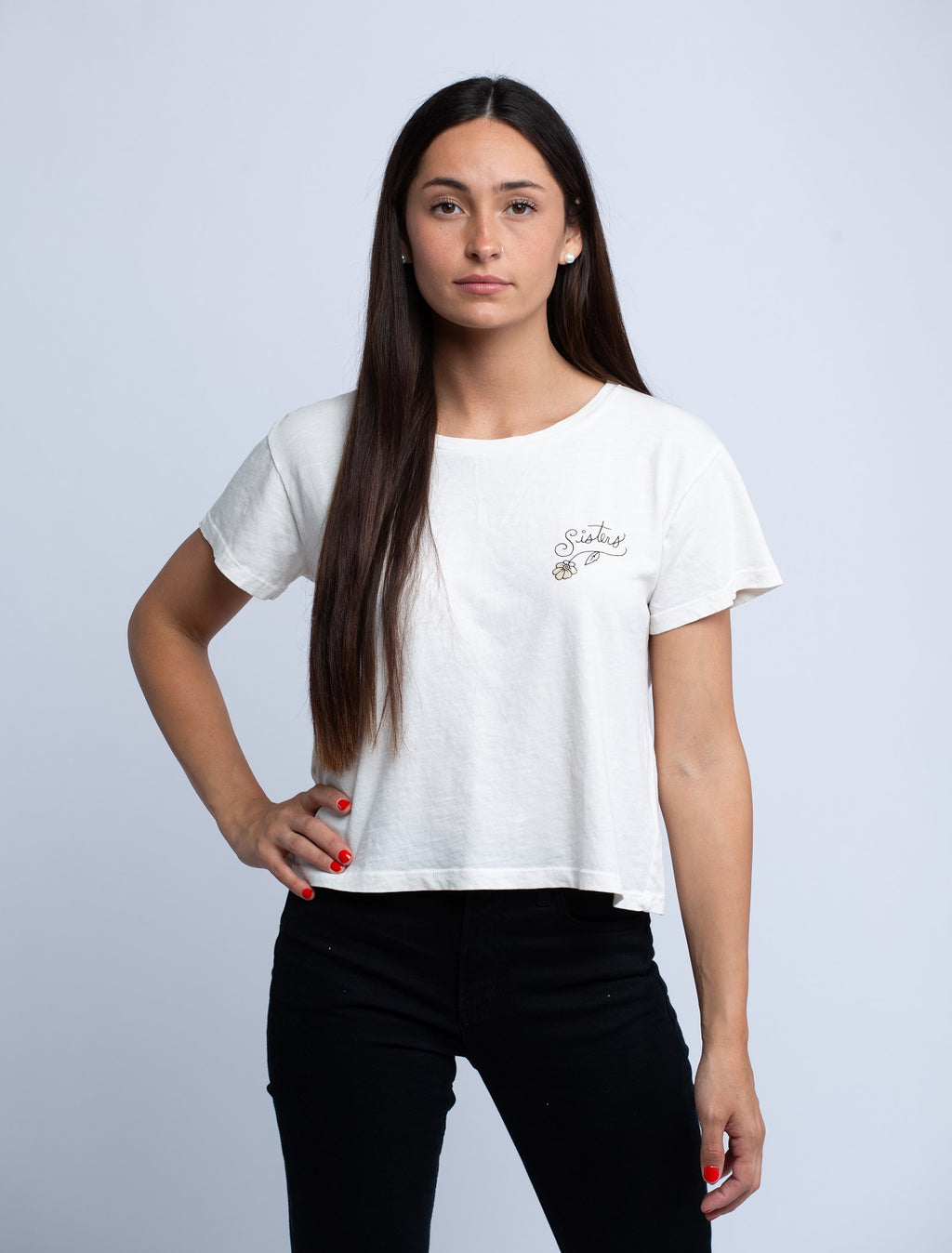 LNA<br>Sisters Tee - Trendy Fox Boutique