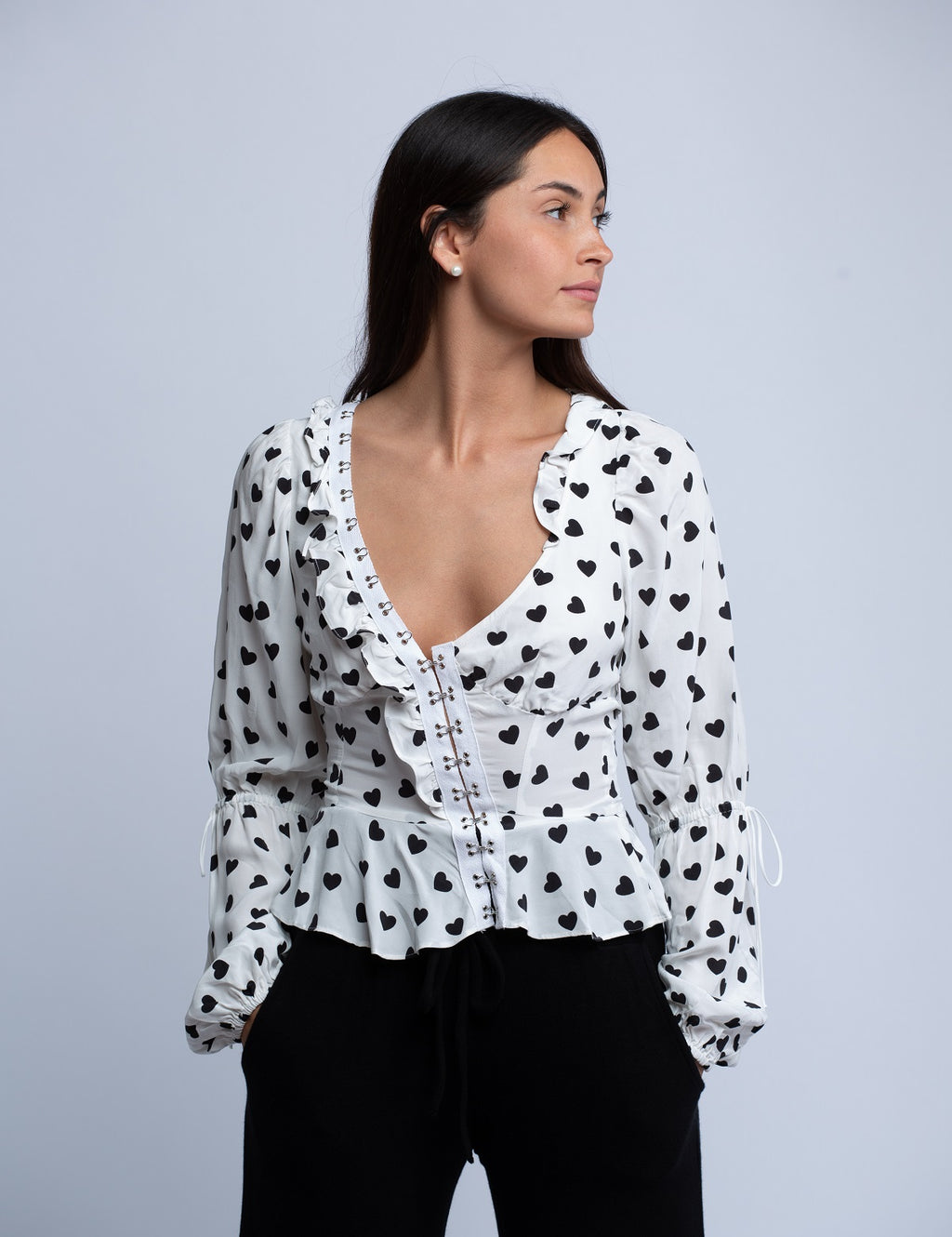 Willow Long Sleeve Top <br> For Love & Lemons - Trendy Fox Boutique