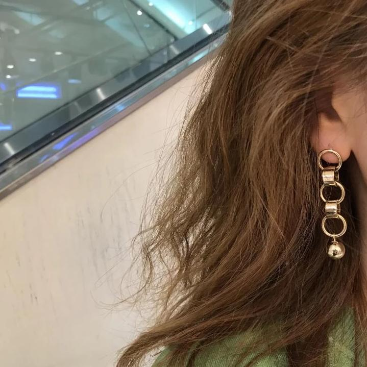 BELL EARRING, GOLD - Trendy Fox Boutique