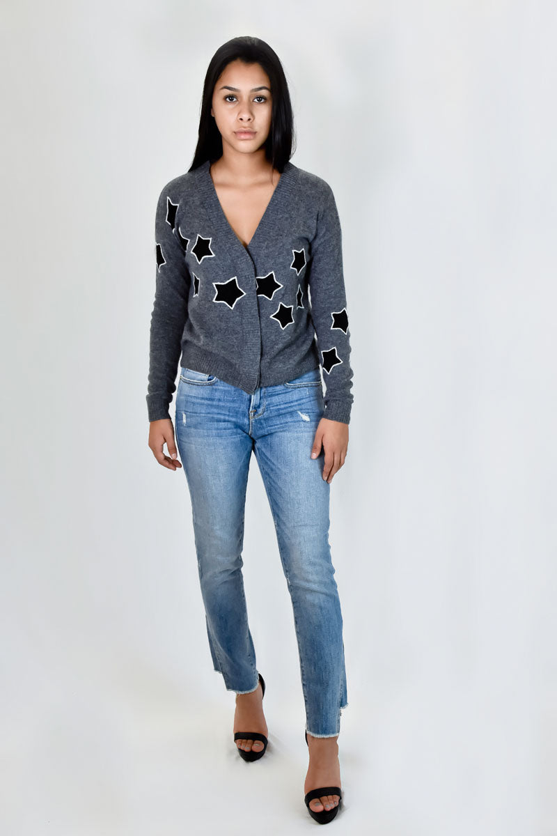 Jolina V Neck Cardigan <br> 27 Miles Malibu - Trendy Fox Boutique