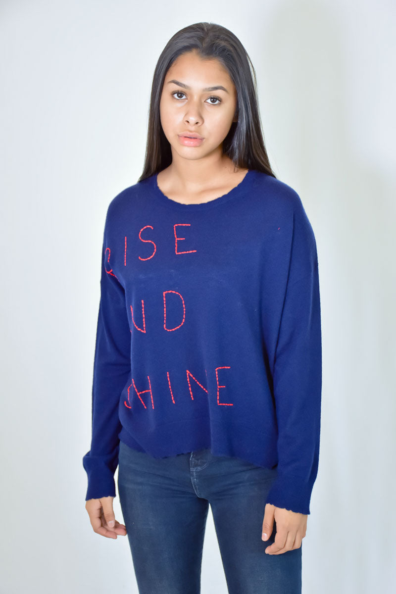 Rise & Shine Sweater <br> Sundry - Trendy Fox Boutique