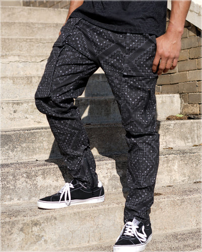Cargo Joggers by Noksi Tattoo - Ships / Dec.