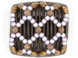 African Butterfly Chameleon Hair Comb - Ndalena Brown 13