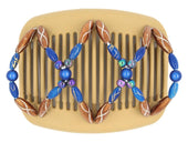 African Butterfly Hair Comb - Dalena Blonde 60