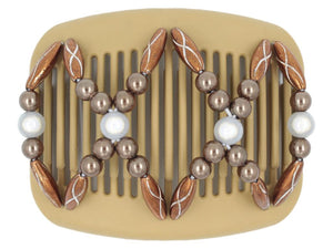 African Butterfly Hair Comb - Dalena Blonde 65