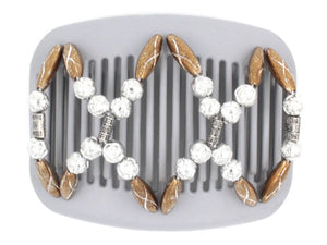 African Butterfly Hair Comb - Dalena Gray 23