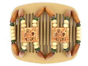 African Butterfly Hair Comb - Dupla Blonde 50