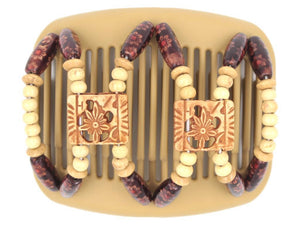 African Butterfly Hair Comb - Dupla Blonde 62