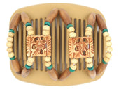 African Butterfly Hair Comb - Dupla Blonde 71