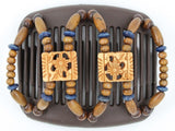 African Butterfly Hair Comb - Dupla Brown 52