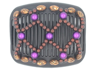 African Butterfly Hair Comb - Ndalena Black 76