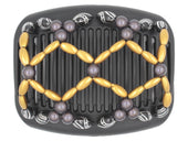 African Butterfly Hair Comb - Ndalena Black 82