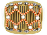 African Butterfly Hair Comb - Ndalena Blonde 42
