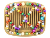 African Butterfly Hair Comb - Ndalena Blonde 84