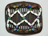 African Butterfly Hair Comb - Ndalena Brown 03