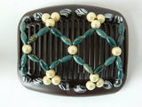 African Butterfly Hair Comb - Ndalena Brown 10