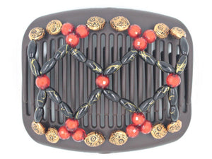 African Butterfly Hair Comb - Ndalena Brown 118