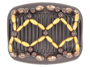 African Butterfly Hair Comb - Ndalena Brown 139