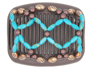 African Butterfly Hair Comb - Ndalena Brown 141