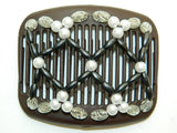 African Butterfly Hair Comb - Ndalena Brown 44
