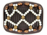 African Butterfly Hair Comb - Ndalena Brown 98