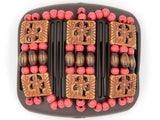African Butterfly Hair Comb - Tripla Brown 22