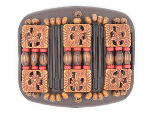 African Butterfly Hair Comb - Tripla Brown 35