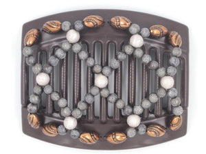 African Butterfly Thick Hair Comb - Ndalena Brown 116