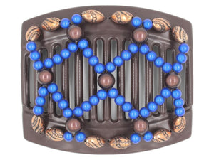 African Butterfly Thick Hair Comb - Ndalena Brown 129
