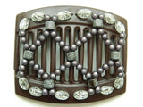 African Butterfly Thick Hair Comb - Ndalena Brown 34