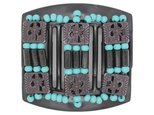 African Butterfly Thick Hair Comb - Tripla Black 17