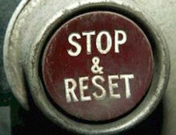 Happy New Year! Stop and Reset thing in your life - blog post by American Farmgirl
