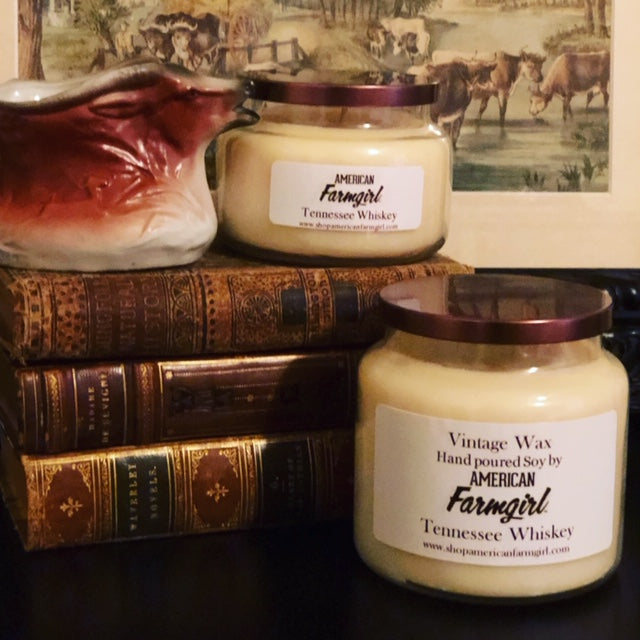Vintage Wax Hand Poured Soy Candles by American Farmgirl