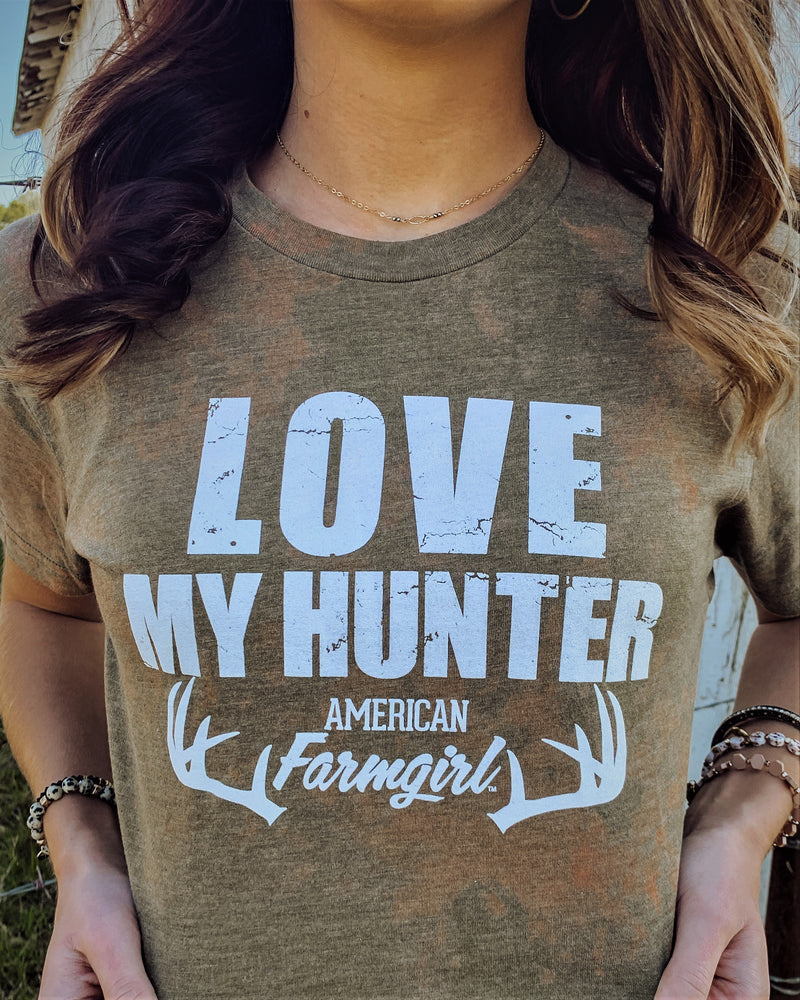 Love My Hunter Distressed by American Farmgirl