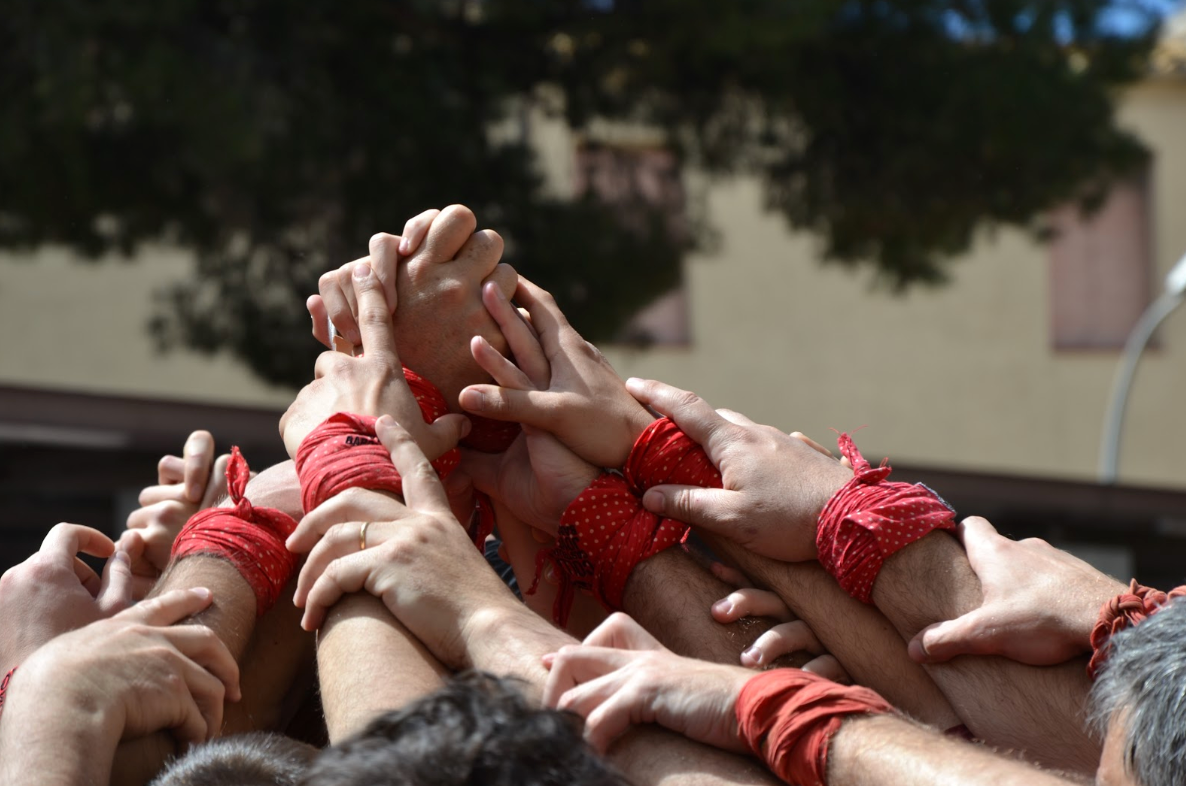 Espadrille Castellers and Enxaneta Inspiration | La Manual Alpargatera